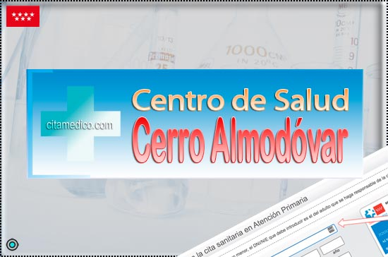 Centro de Atención Primaria Centro de Salud Cerro Almodóvar de Salud Madrid Servicio Madrileño de Salud (SERMAS)