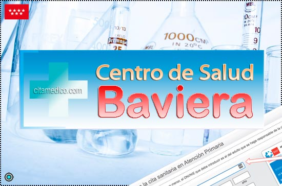 Centro de Atención Primaria Centro de Salud Baviera de Salud Madrid Servicio Madrileño de Salud (SERMAS)