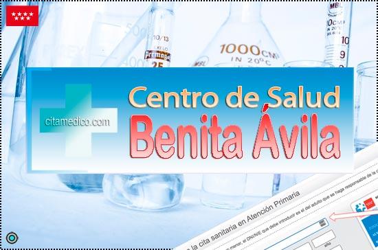 Centro de Atención Primaria Centro de Salud Benita Ávila de Salud Madrid Servicio Madrileño de Salud (SERMAS)