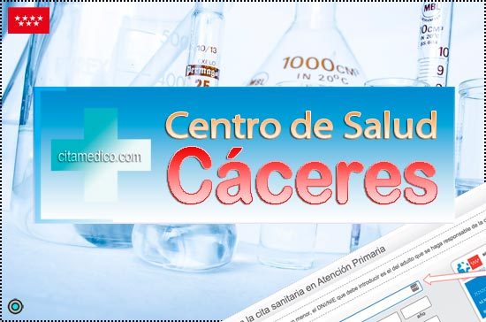 Centro de Atención Primaria Centro de Salud Cáceres de Salud Madrid Servicio Madrileño de Salud (SERMAS)