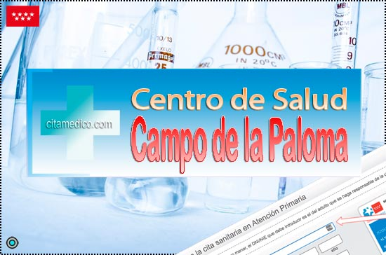 Centro de Atención Primaria Centro de Salud Campo de la Paloma de Salud Madrid Servicio Madrileño de Salud (SERMAS)