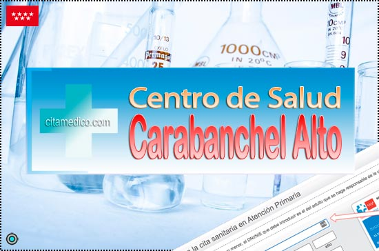 Centro de Atención Primaria Centro de Salud Carabanchel Alto de Salud Madrid Servicio Madrileño de Salud (SERMAS)