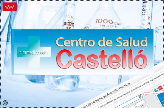 Centro de Atención Primaria Centro de Salud Castelló de Salud Madrid Servicio Madrileño de Salud (SERMAS)