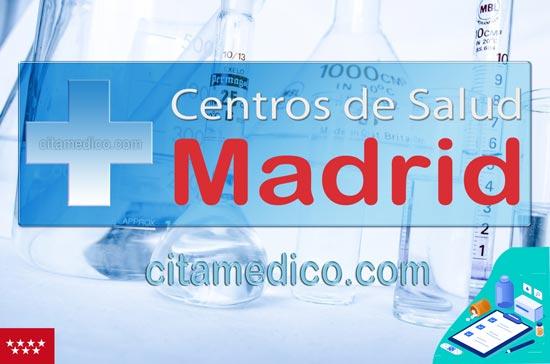 Centro de Atención Primaria Centro de Salud Villa del Prado de Servicio Madrileño de Salud (Sermas)