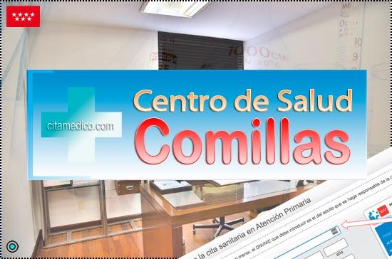 Centro de Atención Primaria Centro de Salud Comillas de Salud Madrid Servicio Madrileño de Salud (SERMAS)