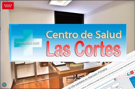 Centro de Atención Primaria Centro de Salud Las Cortes de Salud Madrid Servicio Madrileño de Salud (SERMAS)