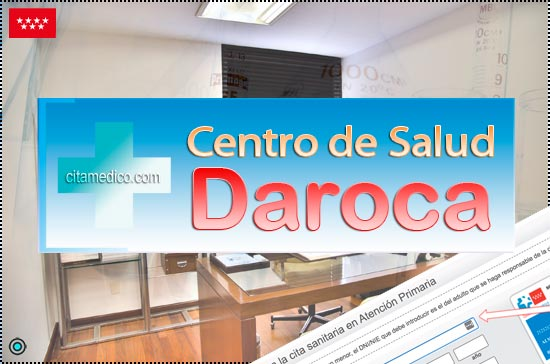 Centro de Atención Primaria Centro de Salud Daroca de Salud Madrid Servicio Madrileño de Salud (SERMAS)