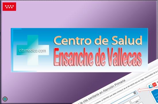 Centro de Atención Primaria Centro de Salud Ensanche de Vallecas de Salud Madrid Servicio Madrileño de Salud (SERMAS)
