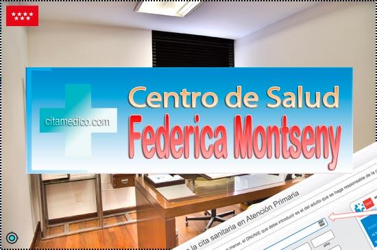 Centro de Atención Primaria Centro de Salud Federica Montseny de Salud Madrid Servicio Madrileño de Salud (SERMAS)