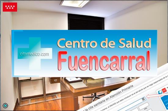 Centro de Atención Primaria Centro de Salud Fuencarral de Salud Madrid Servicio Madrileño de Salud (SERMAS)