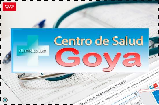 Centro de Atención Primaria Centro de Salud Goya de Salud Madrid Servicio Madrileño de Salud (SERMAS)