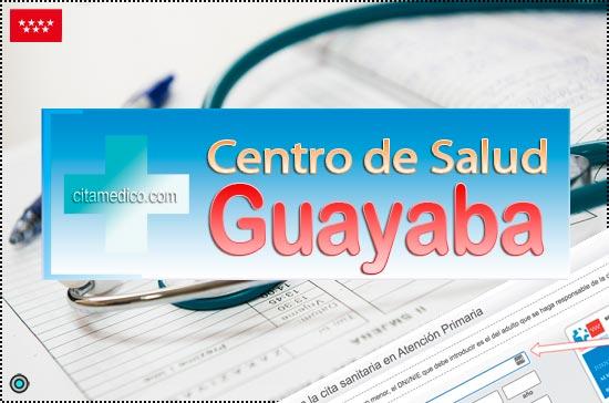 Centro de Atención Primaria Centro de Salud Guayaba de Salud Madrid Servicio Madrileño de Salud (SERMAS)