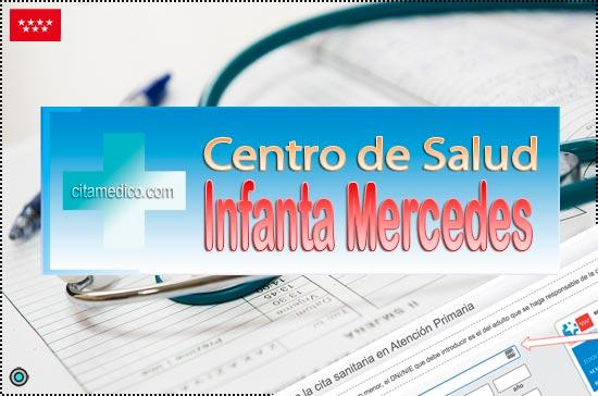 Centro de Atención Primaria Centro de Salud Infanta Mercedes de Salud Madrid Servicio Madrileño de Salud (SERMAS)