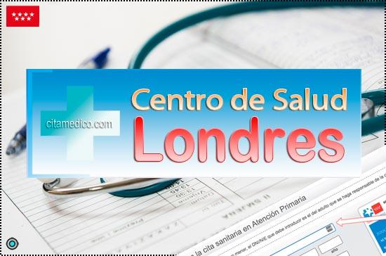 Centro de Atención Primaria Centro de Salud Londres de Salud Madrid Servicio Madrileño de Salud (SERMAS)