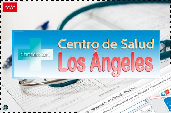 Centro de Atención Primaria Centro de Salud Los Ángeles de Salud Madrid Servicio Madrileño de Salud (SERMAS)
