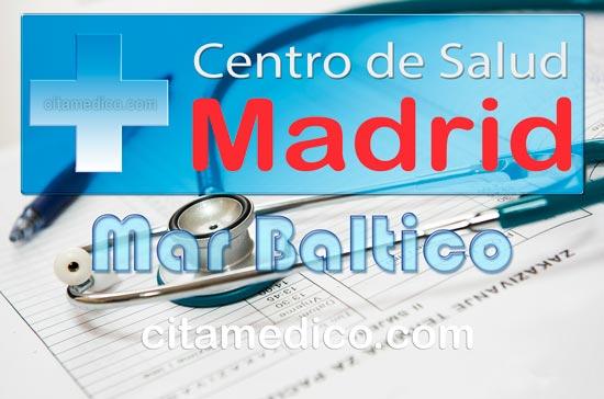 Centro de Atención Primaria Centro de Salud Mar Báltico de Salud Madrid Servicio Madrileño de Salud (SERMAS)
