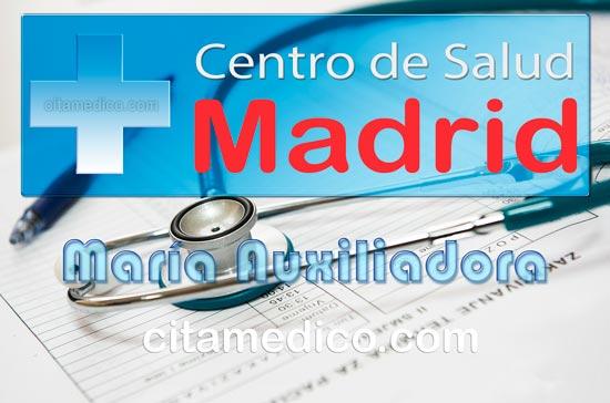 Centro de Atención Primaria Centro de Salud María Auxiliadora de Salud Madrid Servicio Madrileño de Salud (SERMAS)