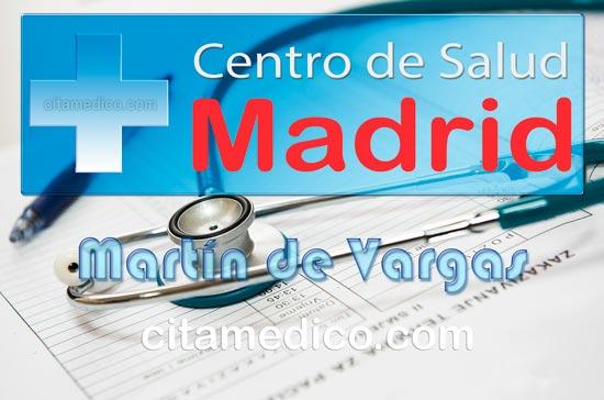Centro de Atención Primaria Centro de Salud Martín de Vargas de Salud Madrid Servicio Madrileño de Salud (SERMAS)