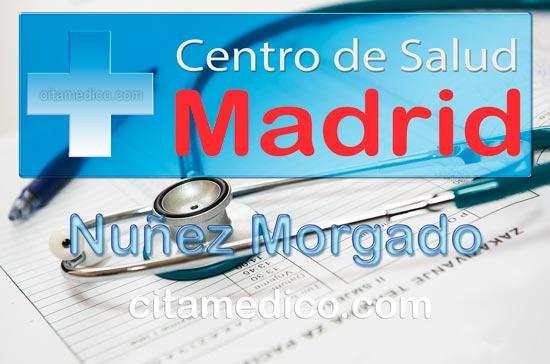 Centro de Atención Primaria Centro de Salud Núñez Morgado de Salud Madrid Servicio Madrileño de Salud (SERMAS)