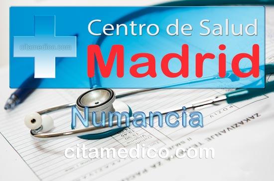 Centro de Atención Primaria Centro de Salud Numancia de Salud Madrid Servicio Madrileño de Salud (SERMAS)