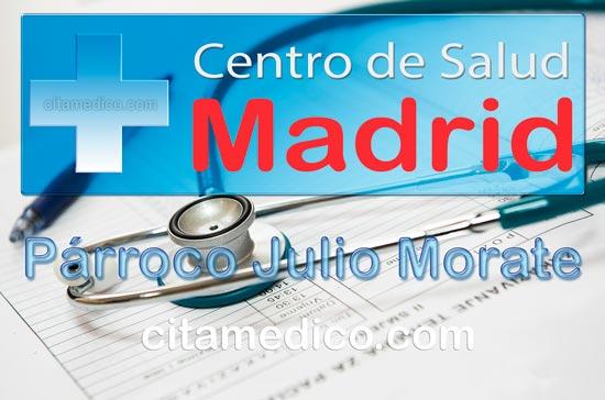 Centro de Atención Primaria Centro de Salud Párroco Julio Morate de Salud Madrid Servicio Madrileño de Salud (SERMAS)