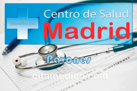 Centro de Atención Primaria Centro de Salud Pavones de Salud Madrid Servicio Madrileño de Salud (SERMAS)