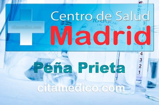 Centro de Atención Primaria Centro de Salud Peña Prieta de Salud Madrid Servicio Madrileño de Salud (SERMAS)