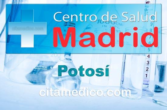 Centro de Atención Primaria Centro de Salud Potosí de Salud Madrid Servicio Madrileño de Salud (SERMAS)
