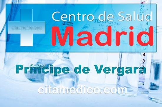 Centro de Atención Primaria Centro de Salud Príncipe de Vergara de Salud Madrid Servicio Madrileño de Salud (SERMAS)