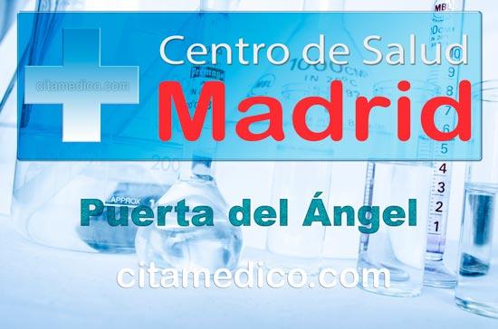 Centro de Atención Primaria Centro de Salud Puerta del Ángel de Salud Madrid Servicio Madrileño de Salud (SERMAS)