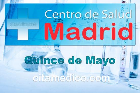 Centro de Atención Primaria Centro de Salud Quince de Mayo de Salud Madrid Servicio Madrileño de Salud (SERMAS)