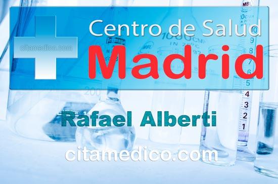 Centro de Atención Primaria Centro de Salud Rafael Alberti de Salud Madrid Servicio Madrileño de Salud (SERMAS)