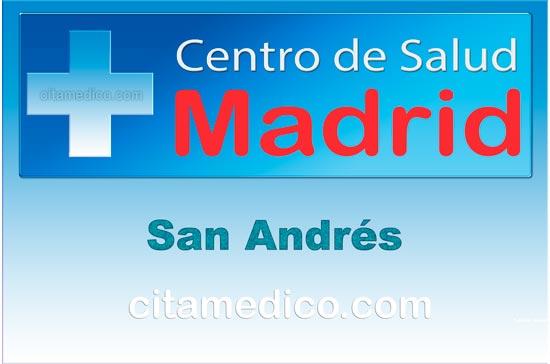 Centro de Atención Primaria Centro de Salud San Andrés de Salud Madrid Servicio Madrileño de Salud (SERMAS)