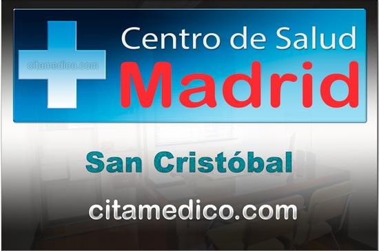 Centro de Atención Primaria Centro de Salud San Cristóbal de Salud Madrid Servicio Madrileño de Salud (SERMAS)