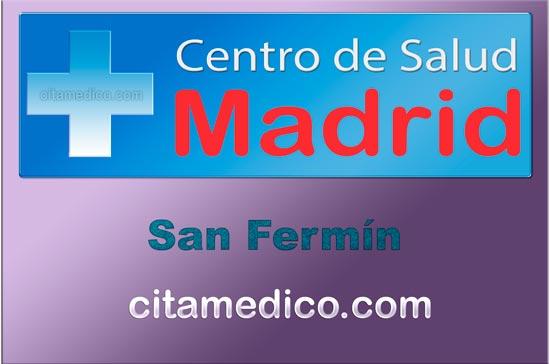 Centro de Atención Primaria Centro de Salud San Fermín de Salud Madrid Servicio Madrileño de Salud (SERMAS)