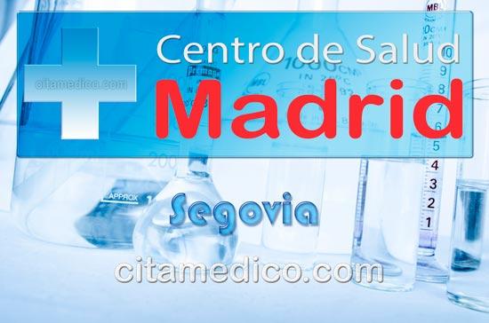 Centro de Atención Primaria Centro de Salud Segovia de Salud Madrid Servicio Madrileño de Salud (SERMAS)