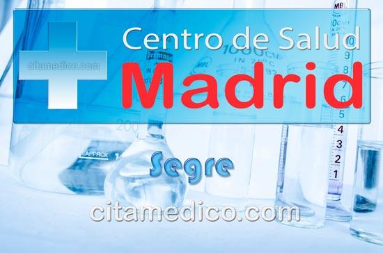 Centro de Atención Primaria Centro de Salud Segre de Salud Madrid Servicio Madrileño de Salud (SERMAS)