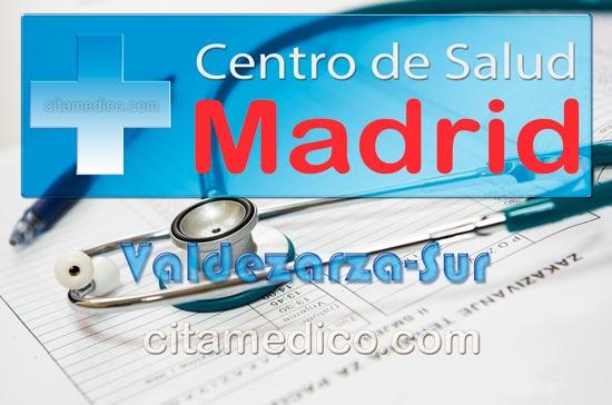 Centro de Atención Primaria Centro de Salud Valdezarza-Sur de Salud Madrid Servicio Madrileño de Salud (SERMAS)
