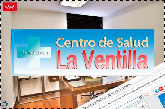 Centro de Atención Primaria Centro de Salud La Ventilla de Salud Madrid Servicio Madrileño de Salud (SERMAS)