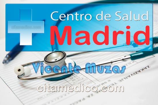 Centro de Atención Primaria Centro de Salud Vicente Muzas de Salud Madrid Servicio Madrileño de Salud (SERMAS)