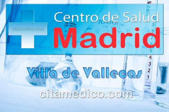 Centro de Atención Primaria Centro de Salud Villa de Vallecas de Salud Madrid Servicio Madrileño de Salud (SERMAS)