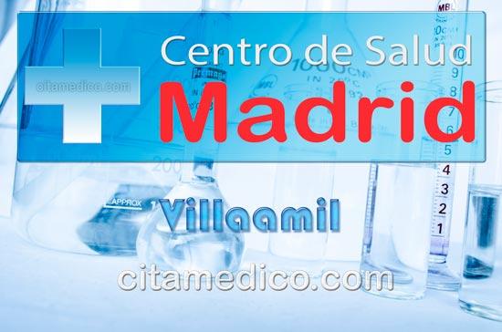 Centro de Atención Primaria Centro de Salud Villaamil de Salud Madrid Servicio Madrileño de Salud (SERMAS)