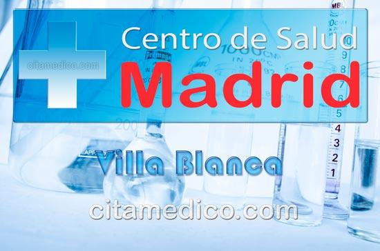 Centro de Atención Primaria Centro de Salud Villablanca de Salud Madrid Servicio Madrileño de Salud (SERMAS)