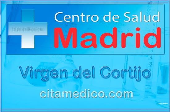 Centro de Atención Primaria Centro de Salud Virgen del Cortijo de Salud Madrid Servicio Madrileño de Salud (SERMAS)