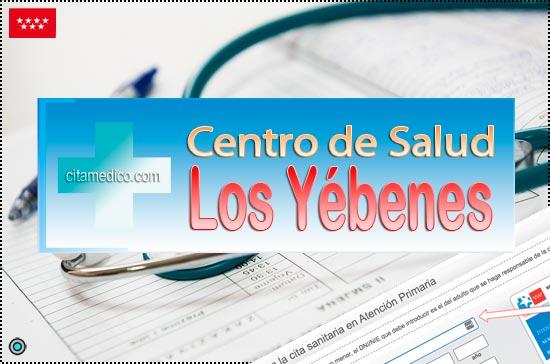 Centro de Atención Primaria Centro de Salud Los Yébenes de Salud Madrid Servicio Madrileño de Salud (SERMAS)