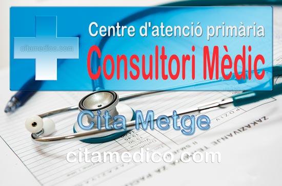 Cita Metge Consultori Mèdic Caldes D'Estrac Centre d'atenció primària de CatSalut Servei Català de la Salut a Barcelona