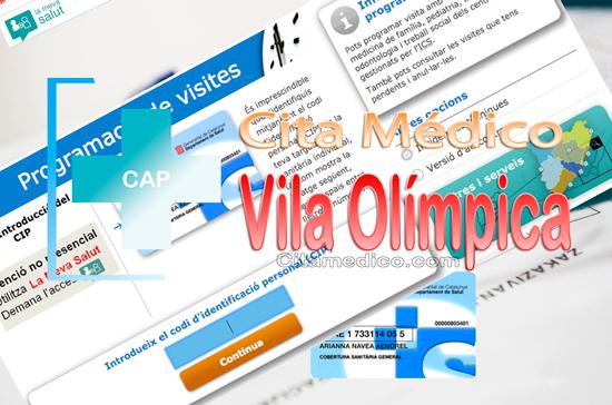 Centre d'atenció primària CAP Vila Olîmpica de CatSalut Servei Català de la Salut a Barcelona