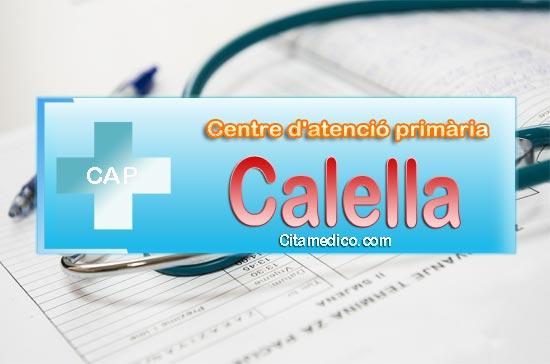 Cita Metge CAP Calella Centre d'atenció primària de CatSalut Servei Català de la Salut a Barcelona