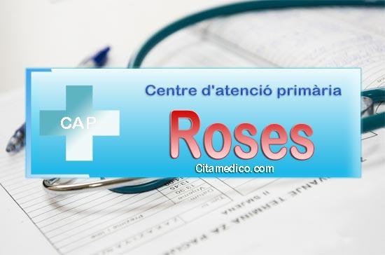 Cita Metge CAP Roses Centre d'atenció primària de CatSalut Servei Català de la Salut a Girona
